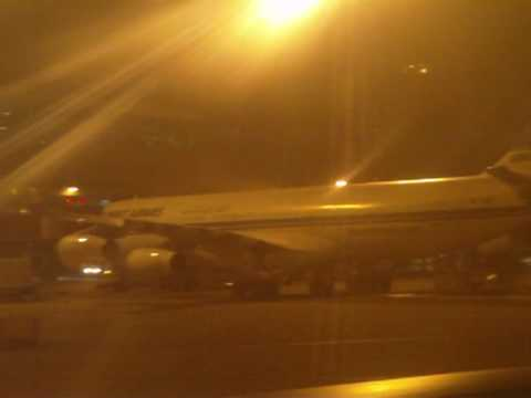 Singapore Airlines at Kuwait International Airport