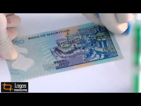 Bank of Mauritius launching its polymer notes