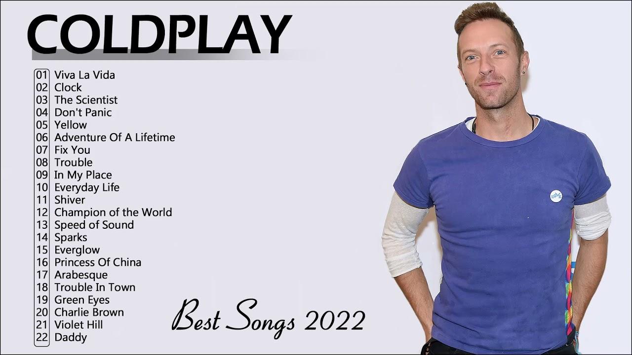 Coldplay Best Songs Album 2022 - Álbum completo Melhores músicas do Coldplay