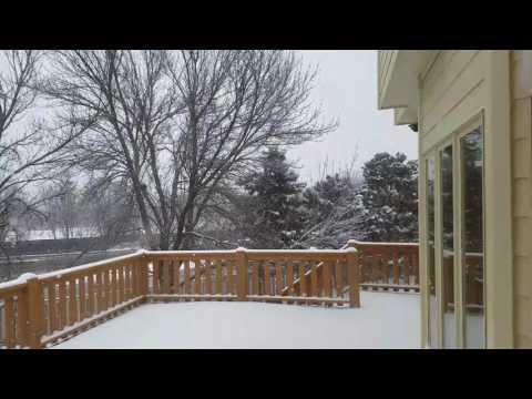 Tuyết đang rơi