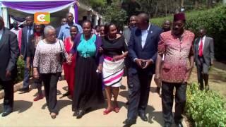 Kenyatta, Ruto condole with Nkaissery family