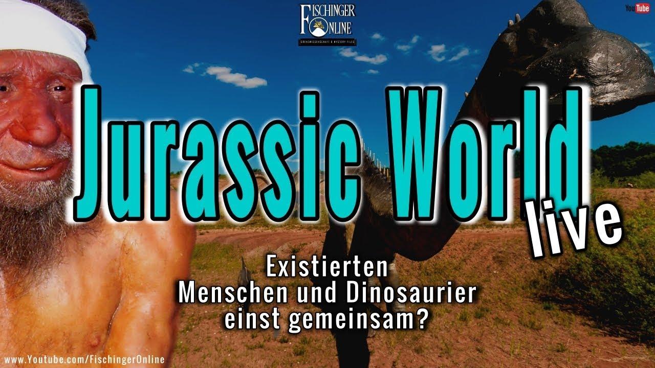 Jurassic World Live Existierten Menschen Und Dinosaurier Einst