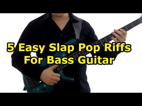 5 Easy Slap Bass Riffs