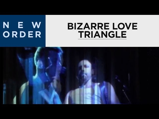 New Order - Bizarre Love Triangle (Official Music Video) [HD Upgrade]