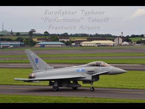 "Eurofighter Typhoon - ""Performance"" takeoff"
