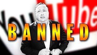 Alex Jones Banned From YouTube, Facebook and other Online Behemoths (REACTION)