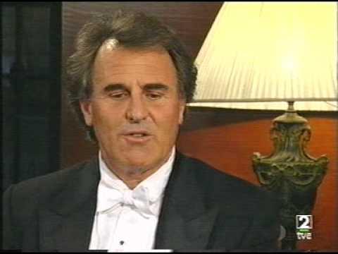 Luis Antonio García Navarro - Entrevista en el Teatro Real de Madrid - 1998