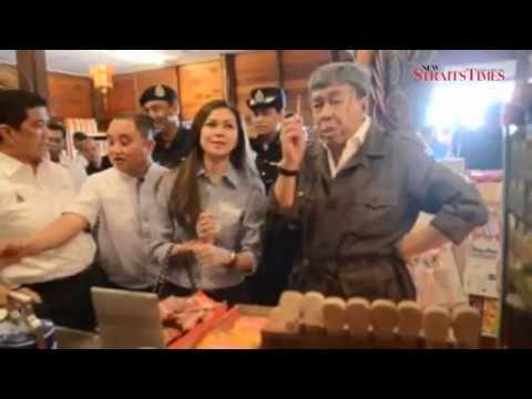Selangor Sultan, Tengku Permaisuri visit Sekinchan