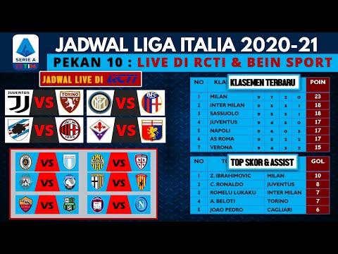 Jadwal Liga Italia Malam Ini Live RCTI | JUVENTUS VS TORINO, SAMPDORIA VS AC MILAN ~ Jadwal Pekan 10