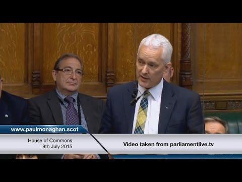 Dr Paul Monaghan MP - Maiden Speech 09/07/2015