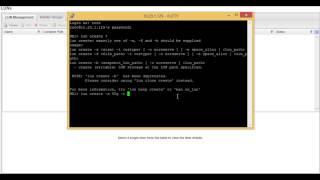 Gewusst wie: Erstellen einer LUN auf dem NetApp Filer Mithilfe der CLI
