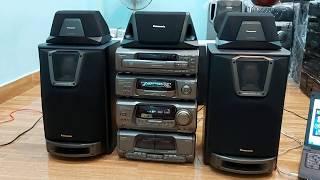 Panasonic VC848 âm thanh 5.1 khiển zin theo máy Loa chân kiền nổi đình nổi đám 1 thời 0938484360