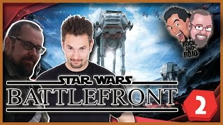 Rock & Rojo w Star Wars: Battlefront | #2 (BETA) | Mamuty i raptory | 60FPS GAMEPLAY