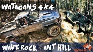 Watagans 4x4 | Extrem 4x4 | 4wd Wave Rock | Ant Hill | [2018] ALLOFFROAD#143