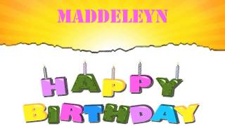 Maddeleyn   Wishes & Mensajes - Happy Birthday