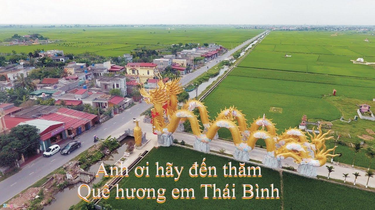 Mời anh về thăm quê em Thái Bình Karaoke Beat chuẩn