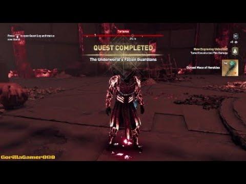 Assassins Creed Odyssey - Fate of Atlantis DLC2 - The Underworld Fallen Guardians |