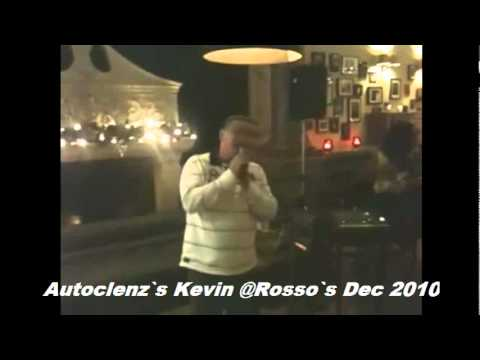 Autoclenz`s Kevin Armstrong Live @ Rosso`s Manchester dec 2010