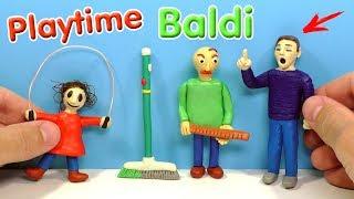 - ЛЕПИМ ДЕВОЧКУ СО СКАКАЛКОЙ из игры Baldi s Basics in Education and Learning