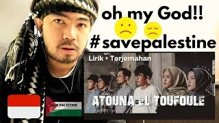 ATOUNA EL TOUFOULE Cover by SABYAN [saudi expats reaction]