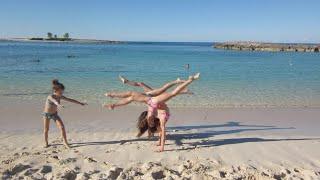 Synchronized Gymanstics On The Beach (WK 207.5)   Bratayley