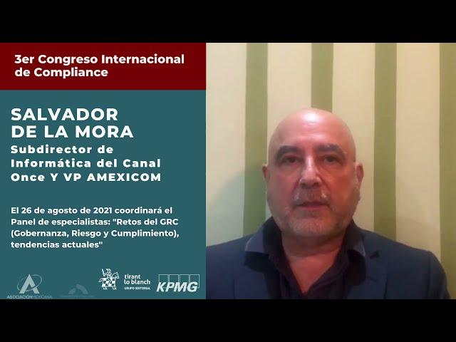 Salvador de la Mora te invita al 3er Congreso AMEXICOM