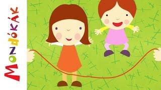 Egy, kettő, három, négy (Gyerekdalok és mondókák, rajzfilm gyerekeknek)