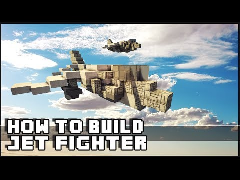 how to build a jet boat in minecraft