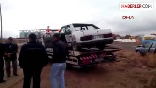 Emirgazi Konya Da Kaza: 2 Yarali
