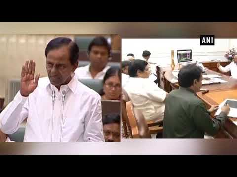 KCR holds review meeting ahead of World Telugu Conference