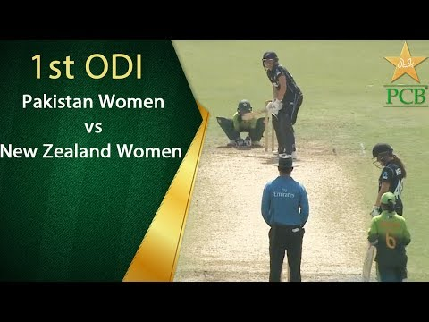 Pakistan Women v New Zealand Women - 1st ODI at Sharjah Cricket Stadium