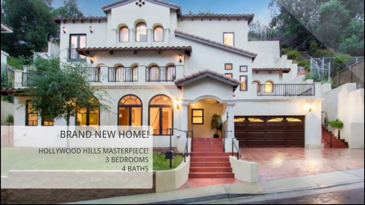 Sold 2733 belden drive hollywood hills homes youtube for Buy house hollywood hills