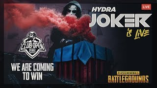Why So Serious Boiiiii🤡🤡  | PUBG MOBILE LIVE | HYDRA MOBILE OFFICIAL
