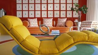 Retro Living Room Interior Design Ideas