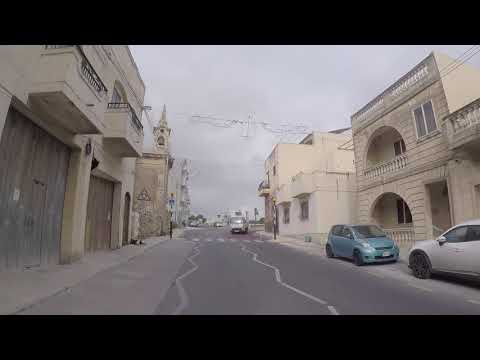 Malta Road to Mgarr / Malte Route vers Mgarr, Gopro