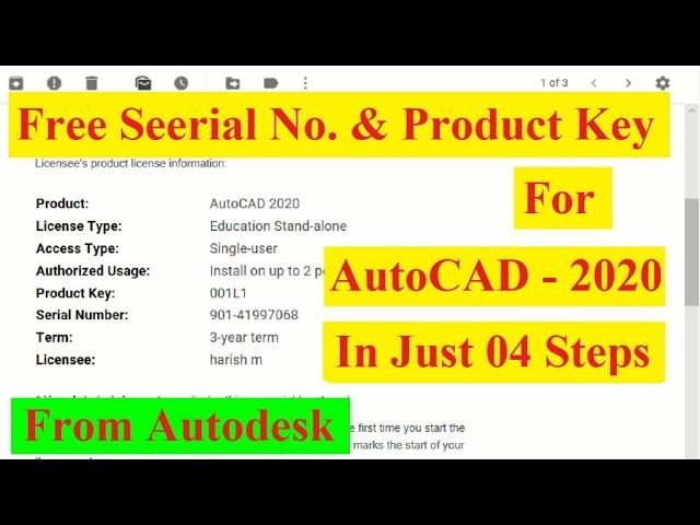 Buy Autodesk Autocad Architecture 2020 Key