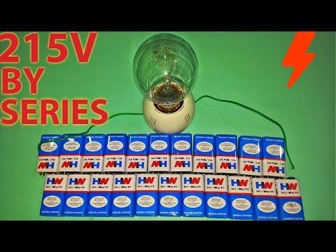 Make power 215V using 9V Battery