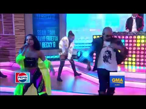 Sean Paul, David Guetta - Mad Love Feat  Becky G  (Live At GMA)
