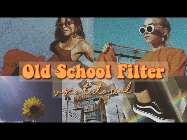 vintage filter
