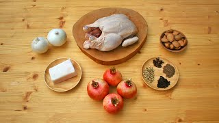 Romania - A Recipe Between Arabic and Italian Tradition - Medieval Chicken with Pomegranates