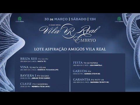 Aspiração - Amigos da Vila Real (mais informações do evento e deste lote na descrição do vídeo)