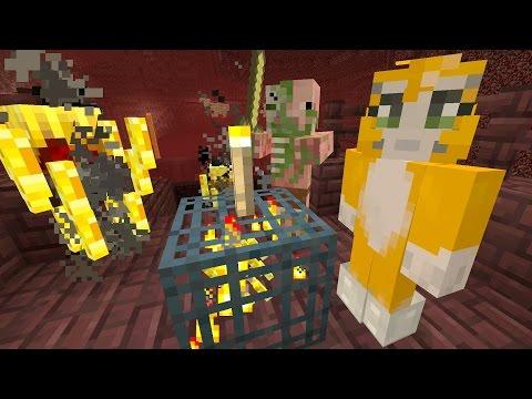 Minecraft Xbox - Cave Den - Nether Adventure (61)