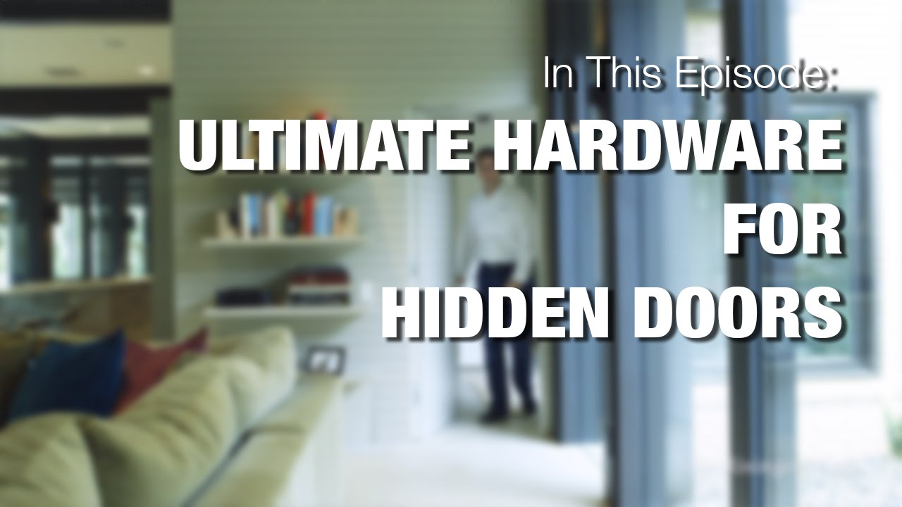 Hidden Bedroom Door Hardware For Concealed Rooms Youtube
