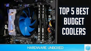 Top 5 Budget Coolers, 2200G & 2400G Raven Ridge AM4 Cooling