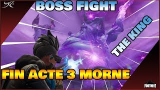 [Fortnite] THE KING OF THE STORM EPIC BOSS FIGHT!? 🔥 - Saving the World