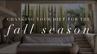 Michelle Mazur Life Wellness - How do I change my diet for the Fall season?