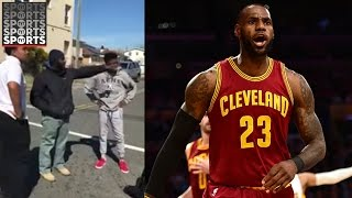 LeBron Shares Viral Fight Video
