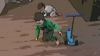 Bo-Ro-Zwillinge sind wieder lustig HD jetzt im Cartoon-Vetsion +++ Spiderman Batman Hulk Superman USA Deutsche