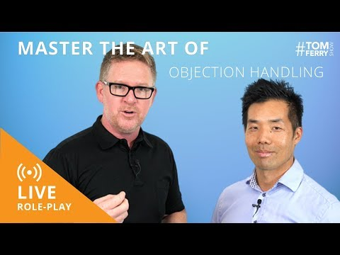 5 Common Objections in Real Estate - Objection Handling LIVE ROLE PLAY | #TomFerryShow