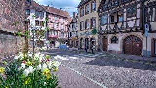 Obernai, berceau légendaire de Sainte Odile